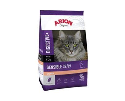 ARION - Original Cat Sensible Salmón - Formatos 2 Kg y 7.5 Kg