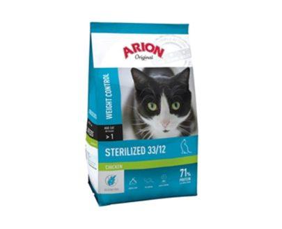 ARION - Original Cat Sterilized Chicken - Formatos 2 Kg y 7.5 Kg