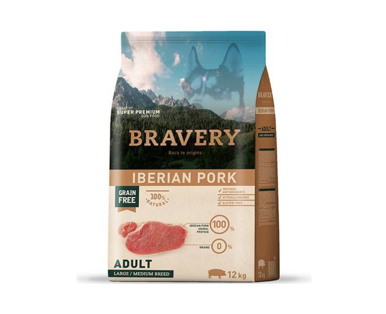 BRAVERY – Adult Iberian Pork 4 Kg y 12 Kg