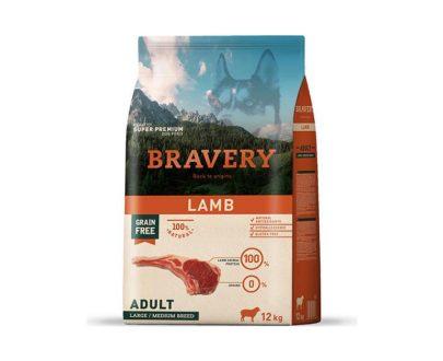 BRAVERY - Adult Lamb 4 Kg y 12 Kg