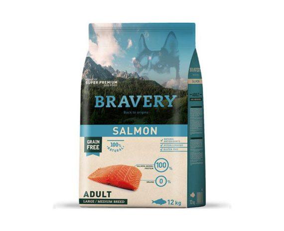 BRAVERY - Adult Salmon 4 Kg y 12 Kg