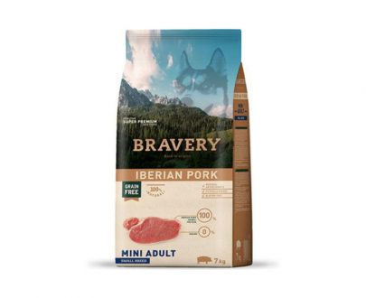 BRAVERY - Mini Adult Iberian Pork 2 Kg y 7 Kg