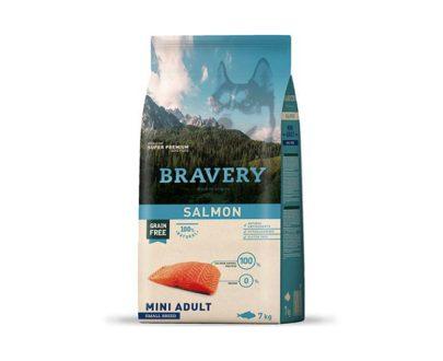 BRAVERY - Mini Adult Salmon 2 Kg y 7 Kg
