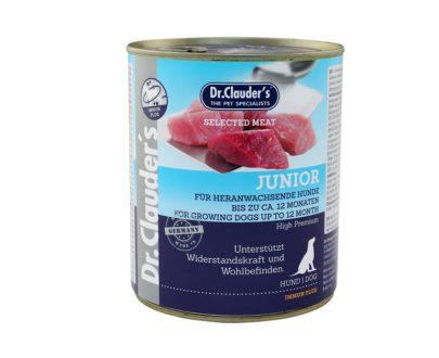 DOCTOR CLAUDER´S Lata Perros Junior Carnes 400gr