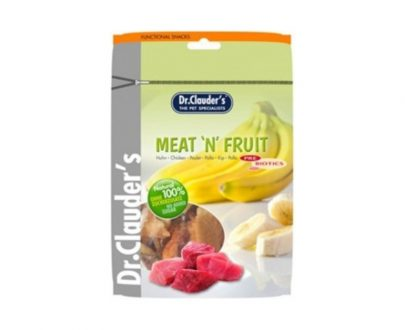 DOCTOR CLAUDER´S Snack Meat&Fruit Taquitos Banana-Pollo 80gr