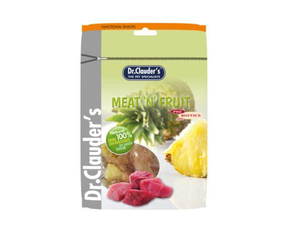 DOCTOR CLAUDER´S Snack Meat&Fruit Taquitos Piña-Pollo 80gr