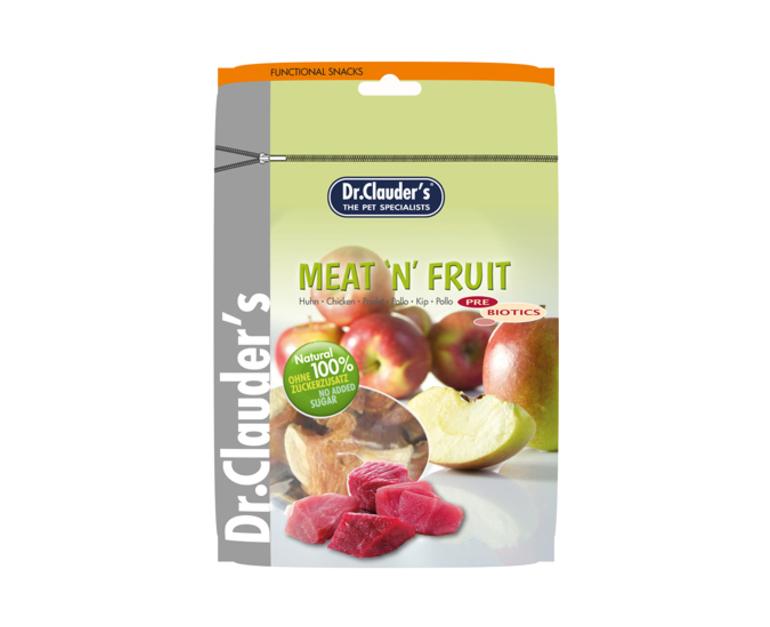 DOCTOR CLAUDER´S Snack Meat&Fruit Taquitos Pollo-Manzana 80gr