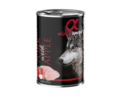 Lata cerdo y manzana 400gr ALPHA SPIRIT