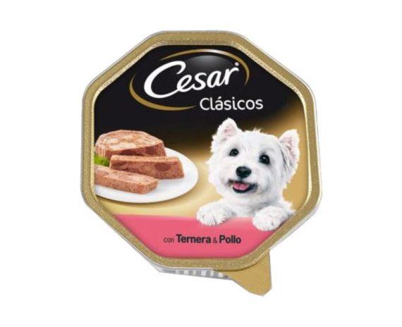 Tarrina clásico ternera y pollo 150gr CESAR