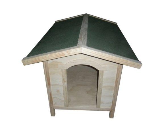 Caseta madera mini, mediana y grande NOBLEZA para perros