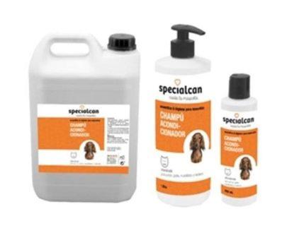 Champú specialcan con acondicionador 250 ml y 1 l SPECIALCAN
