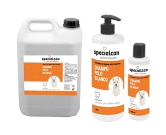 Champú specialcan pelo blanco 250 ml y 1l SPECIALCAN
