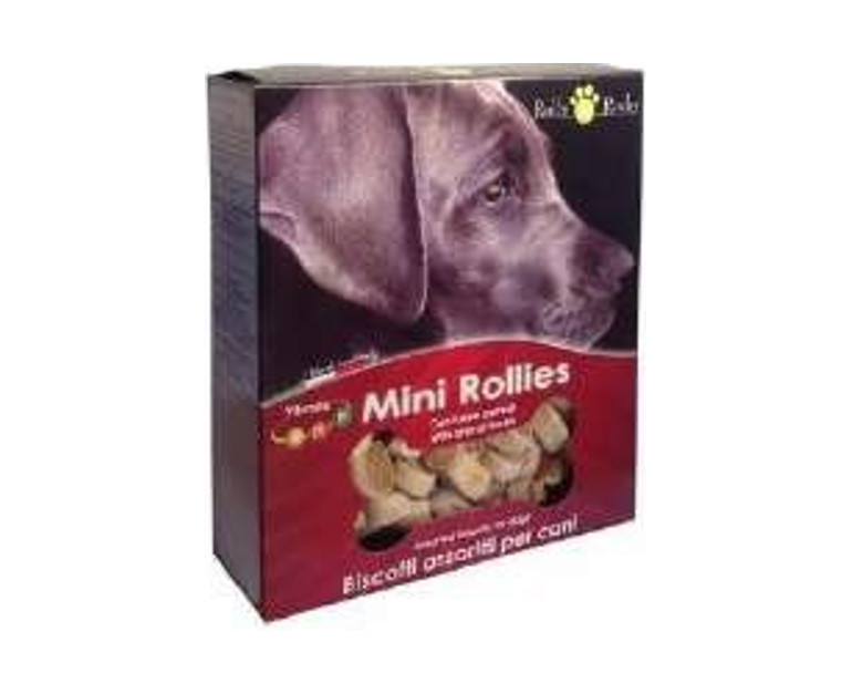 Mini rollies 350 gr. galletas carne ROLL ROCKEY